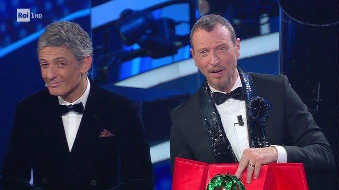 Finale Sanremo 2020 (da Twitter)