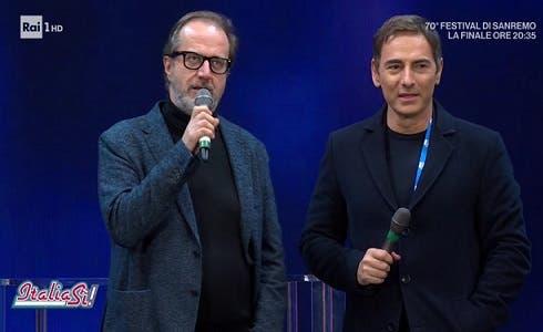 Stefano Coletta e Marco Liorni - Italia Sì