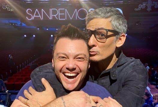 Tiziano Ferro e Fiorello - Sanremo 2020