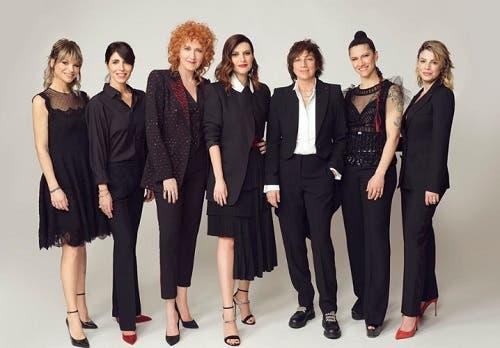 Amoroso, Giorgia, Mannoia, Pausini, Nannini, Elisa, Emma