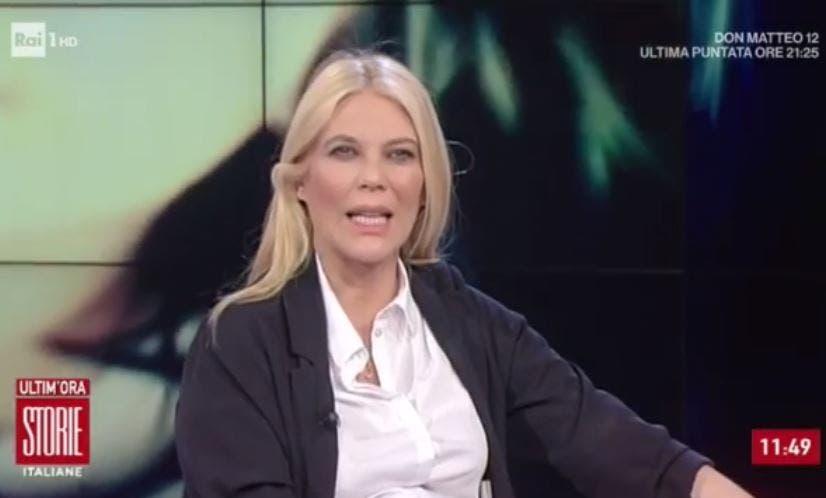 Eleonora Daniele in onda per tutta la gravidanza: nessuna so