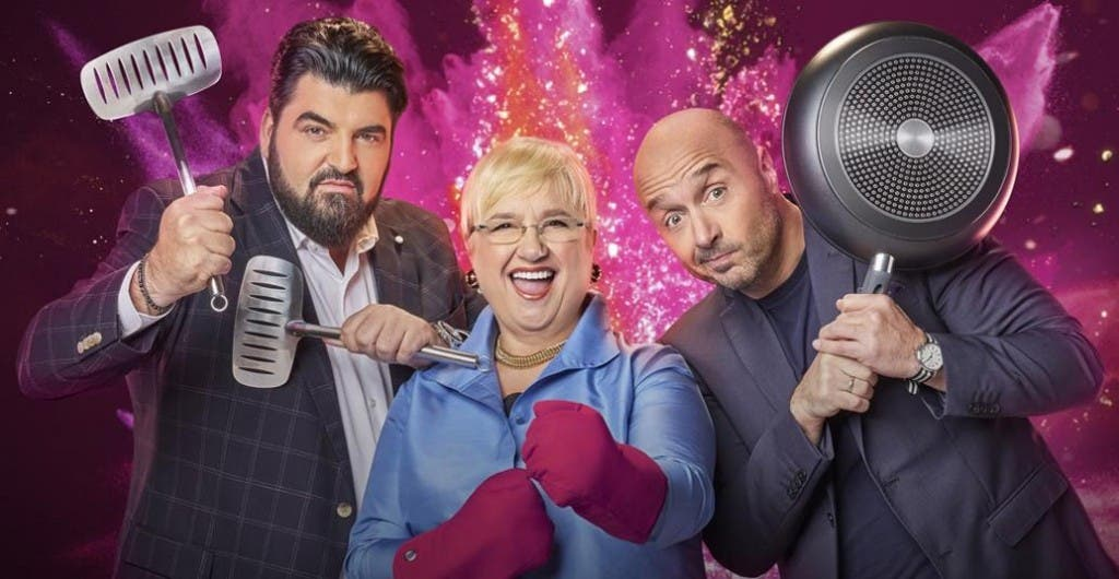 Family Food Fight - Antonino Cannavacciuolo, Lidia Bastianich e Joe Bastianich