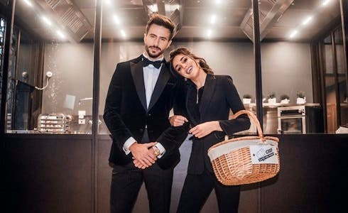 Marco Ferri e Chiara Carcano in Chef Save The Food