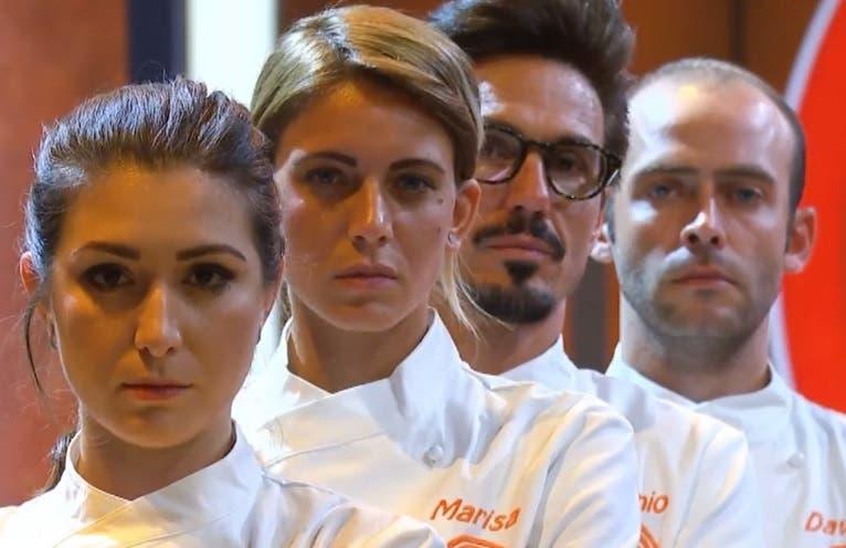 Masterchef 9 - I finalisti Maria Teresa, Marisa, Antonio e Davide