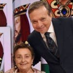 Piero Chiambretti con la madre