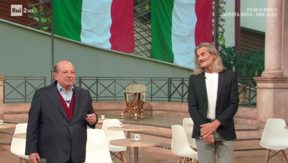 Giancarlo Magalli e Demo Morselli