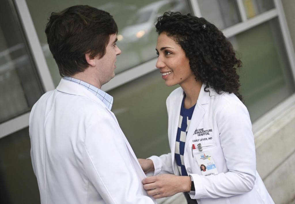 The Good Doctor - Freddie Highmore e Jasika Nicole