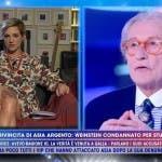 Vittorio Feltri, Asia Argento - Live Non è la D'Urso
