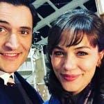 Alessandro Tersigni e Gloria Radulescu