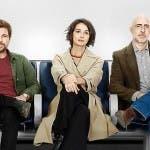 Claudio Gioè, Nicole Grimaudo e Gianmarco Tognazzi in Passeggeri Notturni