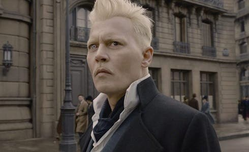 Johnny Depp in Animali Fantastici - I Crimini di Grindelwald