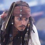 Johnny Depp in Pirati dei Caraibi - La maledizione della prima luna