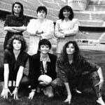 Marina Sbardella, Pina Debbi, Flavia Filippi, Paola Saluzzi, Simona Ventura, Alba Parietti