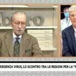 Mario Giordano e Vittorio Feltri a Fuori dal Coro