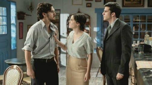 Matias, Marcela e Tomas - Il Segreto