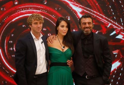 Paolo, Paola, Sossio - GF Vip 2020