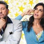 Sergio Castellitto e Sabrina Ferilli in Ricchi di Fantasia