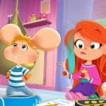 Topo Gigio con la sua amica Zoe