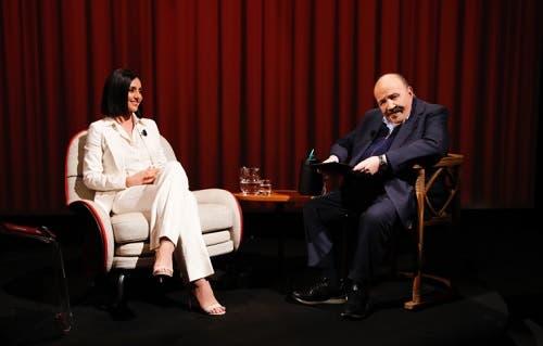 Ambra Angiolini e Maurizio Costanzo - L'Intervista