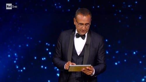 Carlo Conti - David di Donatello 2020