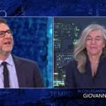 Fabio Fazio e Giovanna Botteri - Che Tempo Che Farà