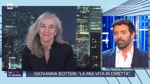 Giovanna Botteri a La Vita in Diretta