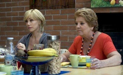 Nancy Brilli e Wilma De Angelis in Femmine contro Maschi