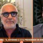 Flavio Briatore e Paolo Del Debbio