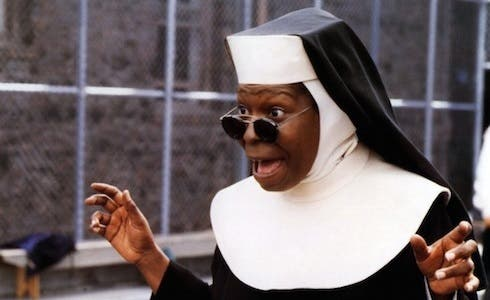 Whoopi Goldberg in Sister Act