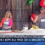 Anna Falchi e Beppe Convertini