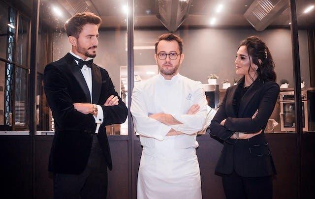 Chef  Save the Food - Marco Ferri, chef Alessandro Negrini e Chiara Carcano