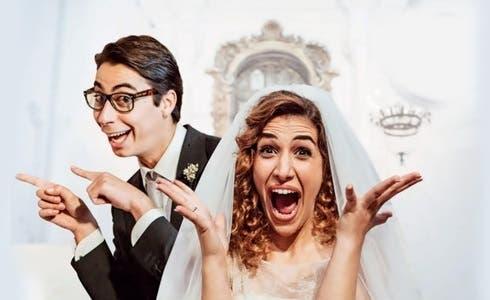 Claudio Casisa e Annandrea Vitrano in La Fuitina sbagliata