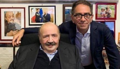 Maurizio Costanzo e Pino Strabioli