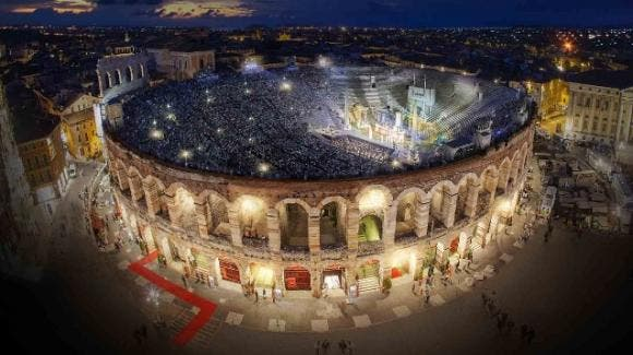 Music Awards all'Arena di Verona