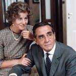 Stefania Sandrelli e Vittorio Gassman in La Famiglia