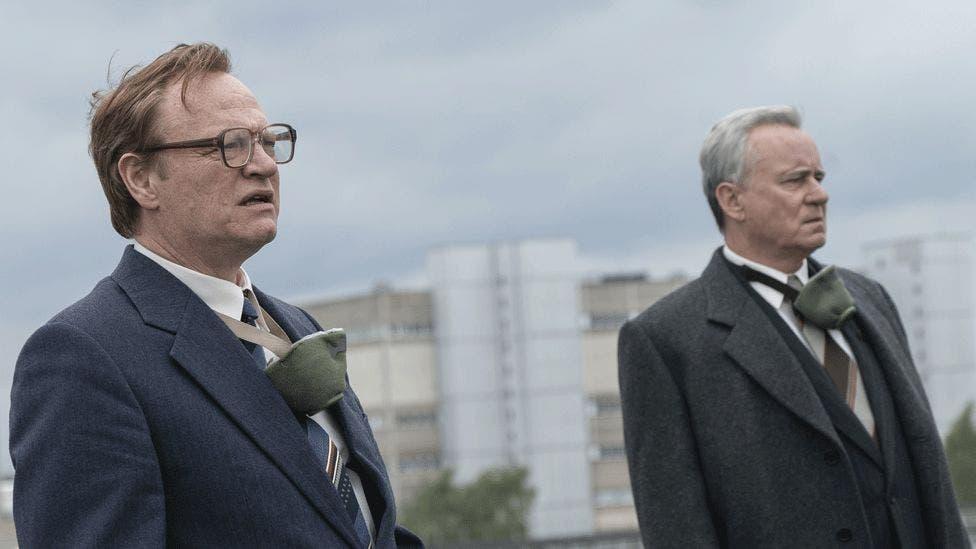 Chernobyl - Jared Harris e Stellan Skarsgard