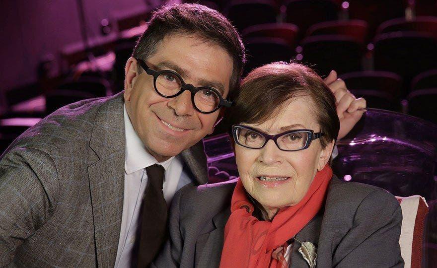 Pino Strabioli e Franca Valeri