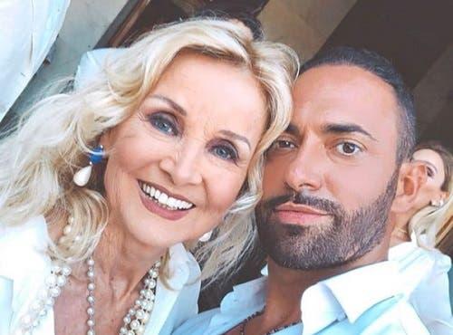 Barbara Bouchet e Stefano Oradei