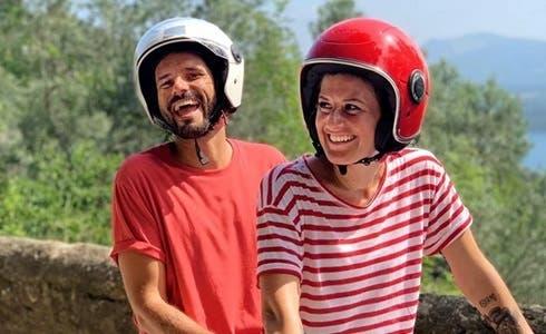 Marco Bianchi e Angela Rafanelli in Linea Verde Estate