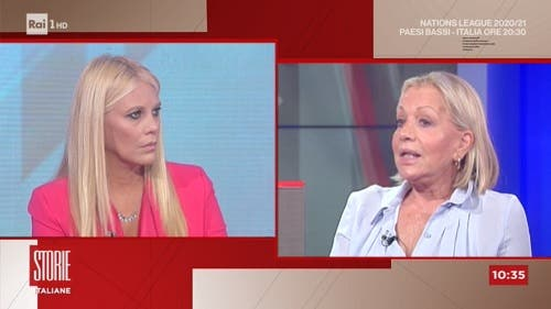 Eleonora Daniele e Catherine Spaak - Storie Italiane
