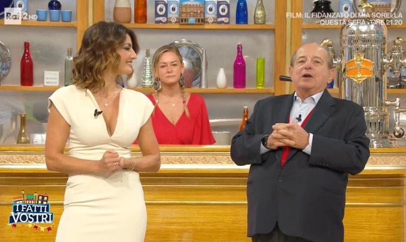 Giancarlo Magalli, nuova frecciata a Adriana Volpe: