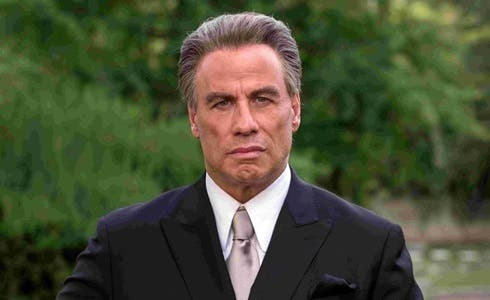 John Travolta in Gotti - Il primo padrino
