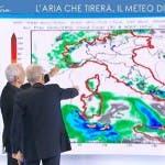 L'Aria che Tira, Mario Monti e Paolo Sottocorona