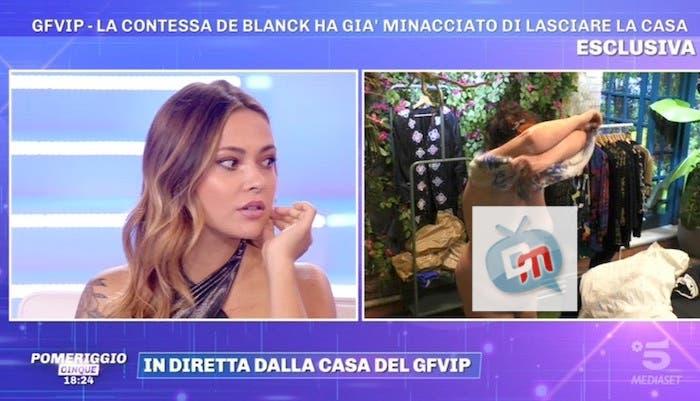 Patrizia De Blanck nuda al GF VIP