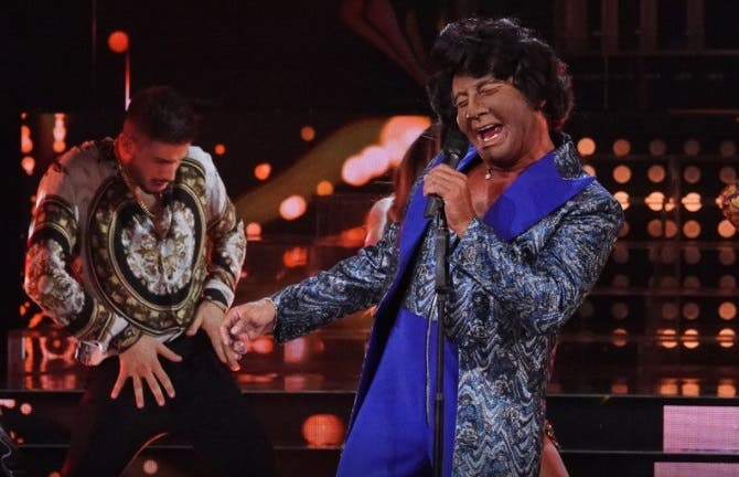 Tale e Quale Show - Francesco Paolantoni imita James Brown