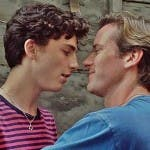 Timothée Chalamet e Armie Hammer in Chiamami col tuo nome