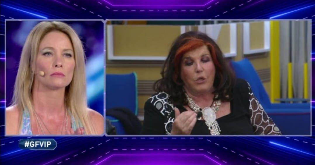 Flavia Vento e Patrizia De Blanck