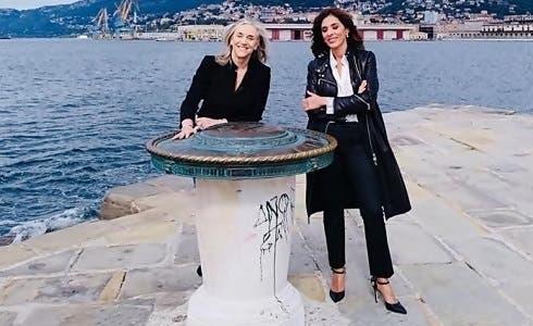 Giovanna Botteri ed Emma D'Aquino