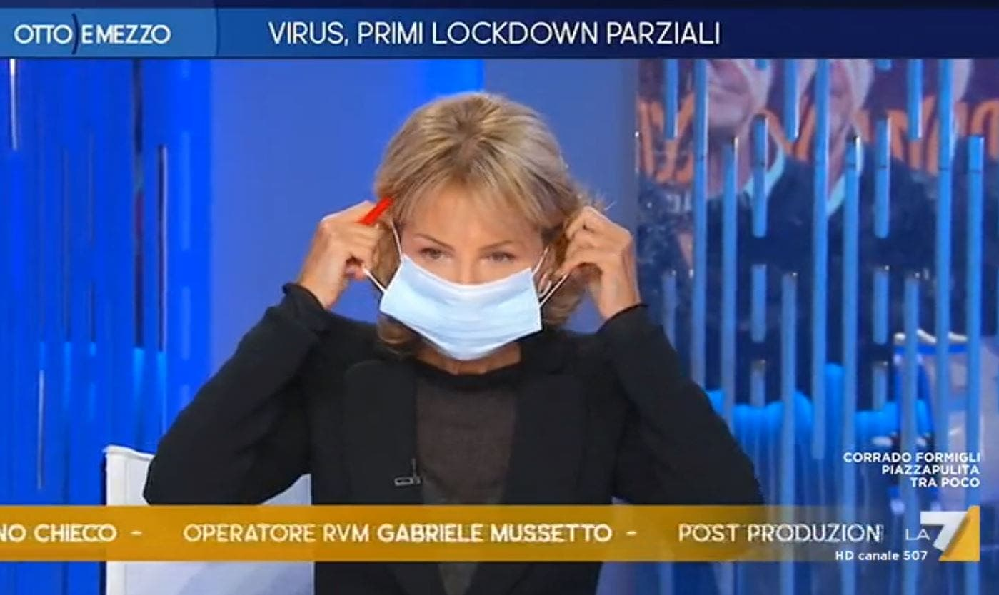 """Lilli Gruber esplode: """"Basta parlare di poltrone offerte dal governo Conte, sono stanca!"""" (video)"""
