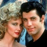Olivia Newton-John e John Travolta in Grease